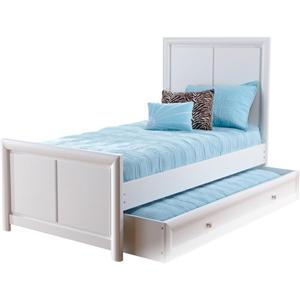 Holland House Boca Twin Panel Bed