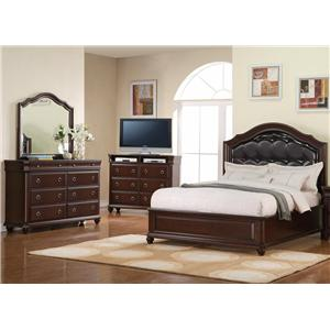 Holland House Broadmoor 5 Piece Queen Bedroom Group