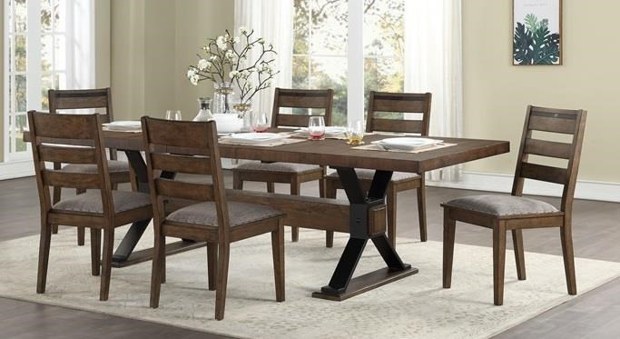 Bryce Table and  Chairs by HH at Walker's Furniture