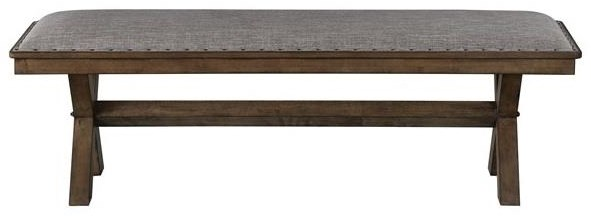Bryce Upholstered Dining Bench by HH at Walker's Furniture