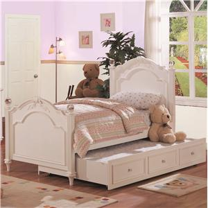Holland House Chantilly Twin Post Bed and Trundle