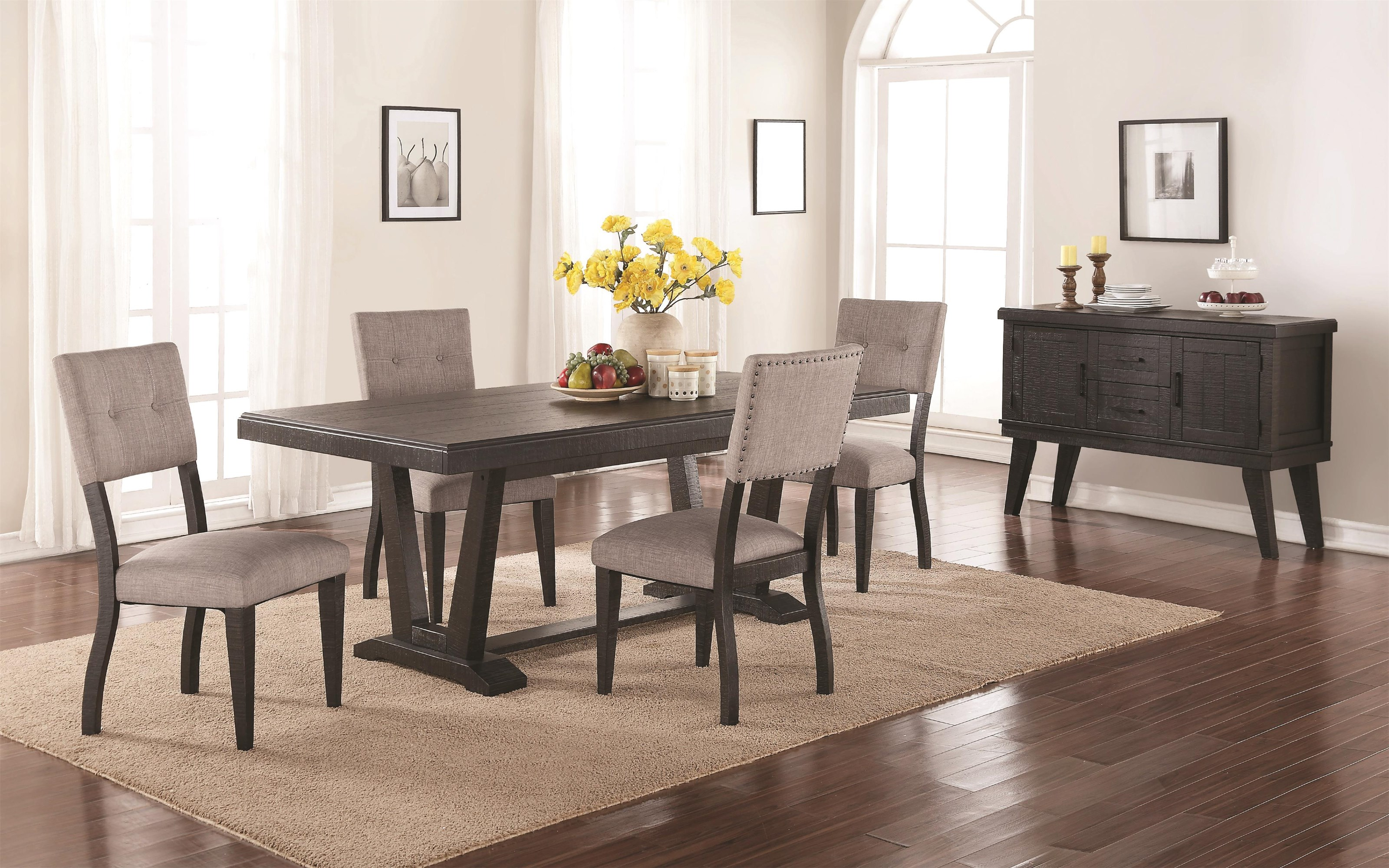 Forest Place Forest Place 5-Piece Dining Set by Holland House at Morris Home
