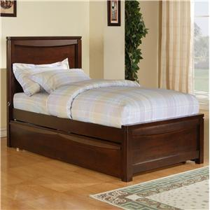Holland House Greenville Twin Panel Bed with Trundle