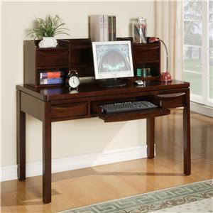 Holland House Greenville Computer Desk & Hutch