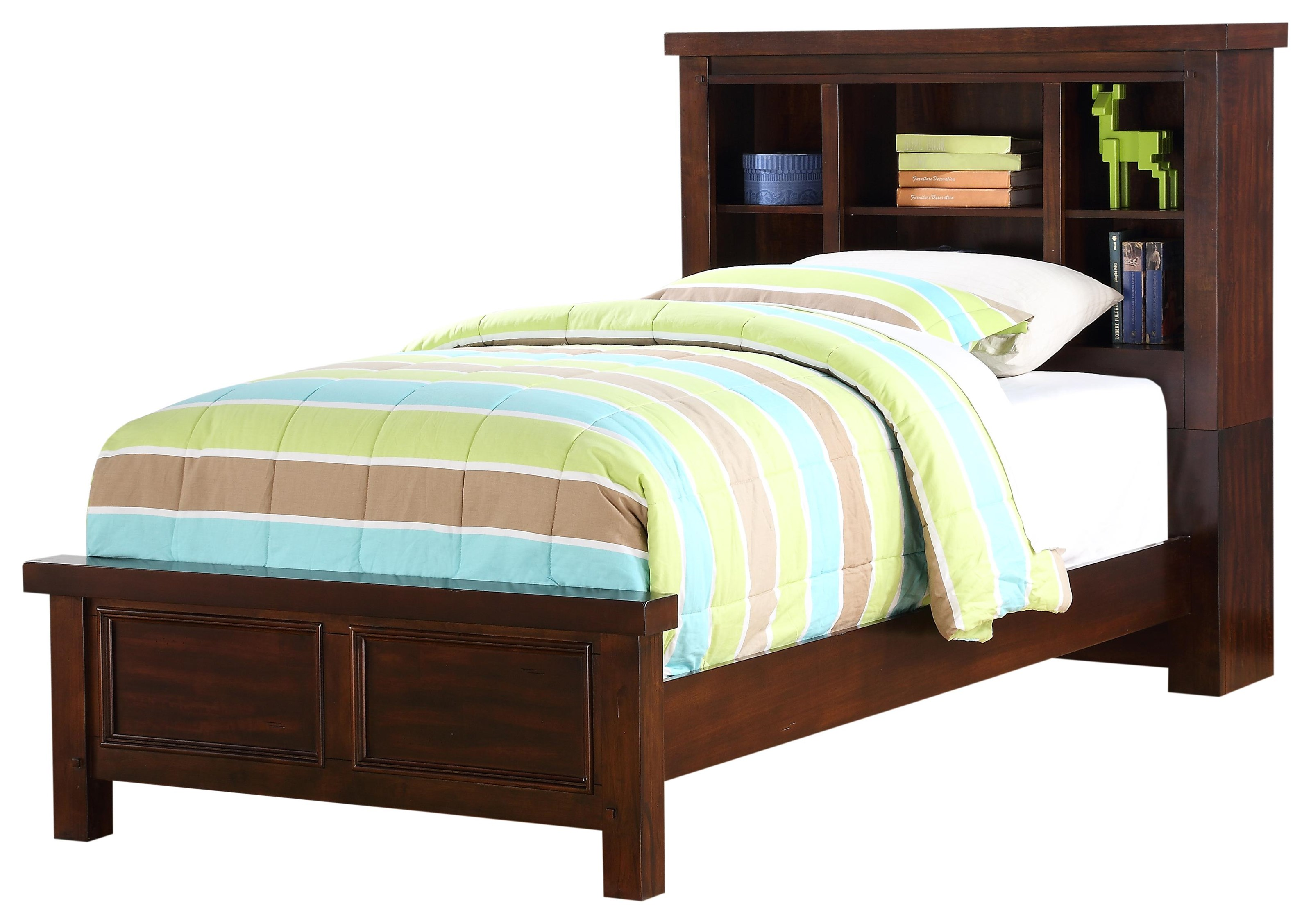 HAYWARD TWIN BOOKCASE BED by HH at Walker's Furniture