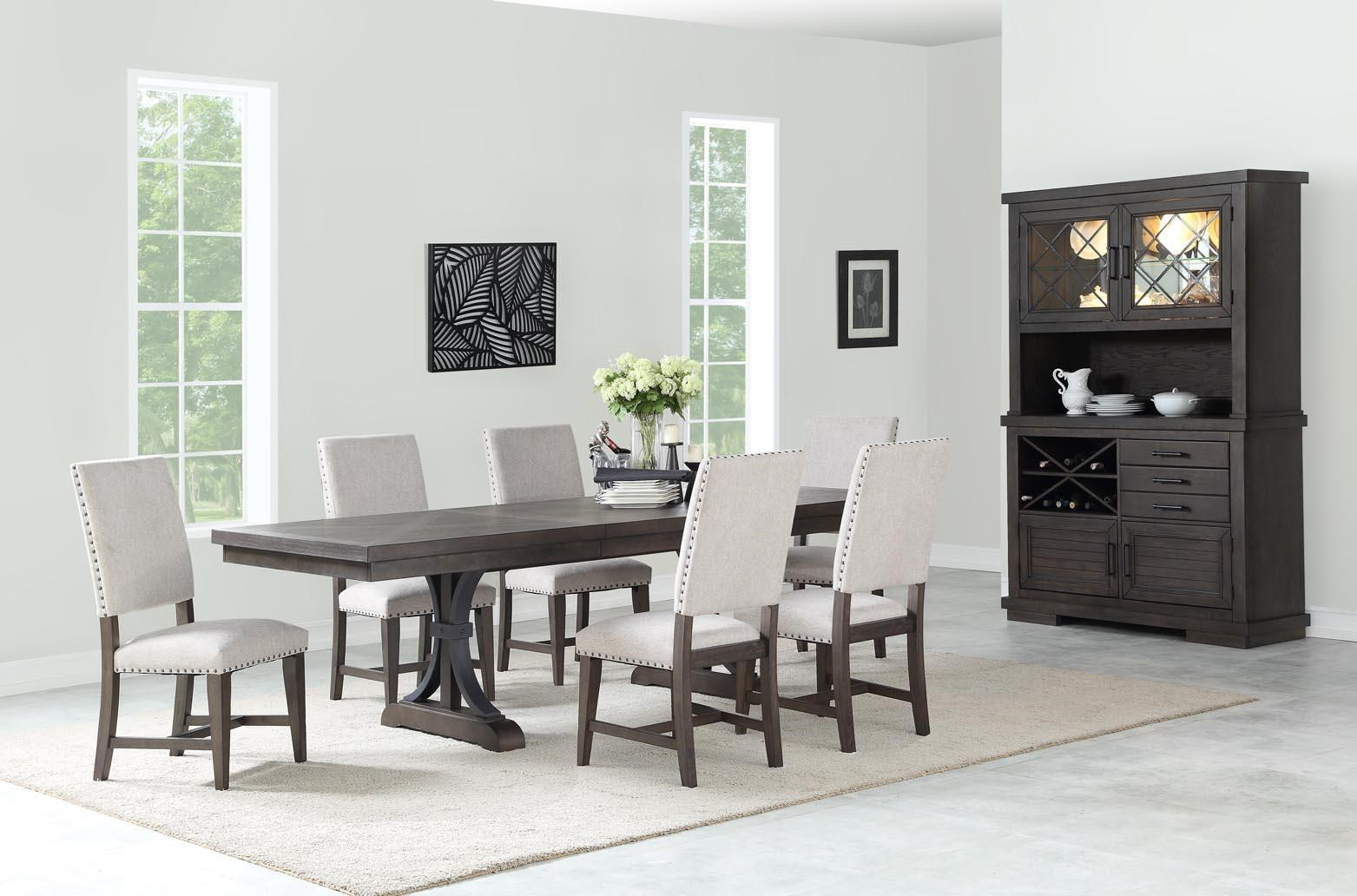 Jayden Table and 6 Chairs by HH at Walker's Furniture