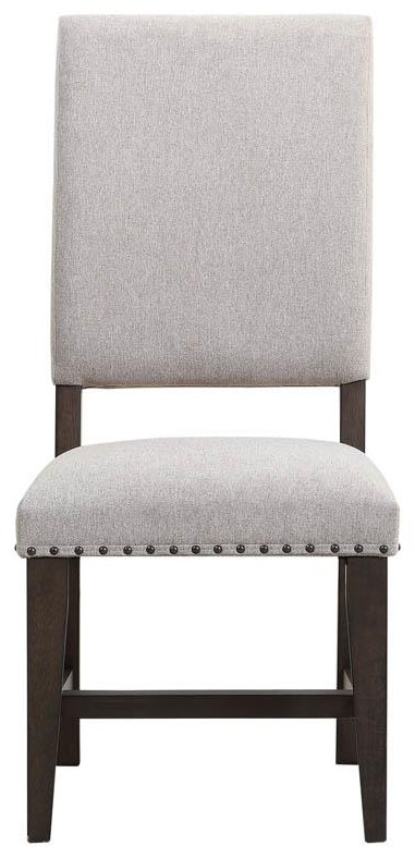 Jayden Upholstered Parson Side Chair by HH at Walker's Furniture
