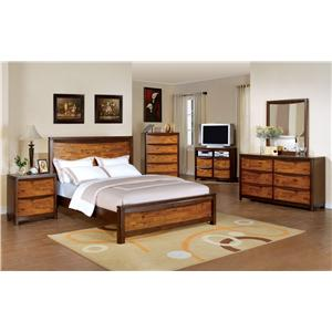 Holland House Kelsy 7 Piece Queen Bedroom Set