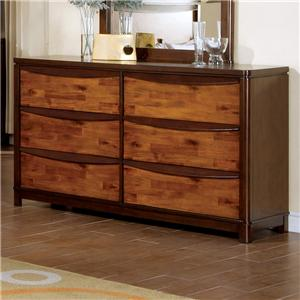 Holland House Kelsy 6 Drawer Dresser