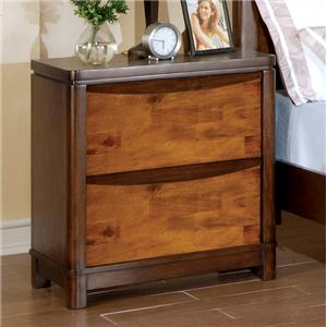 Holland House Kelsy 2 Drawer Nightstand