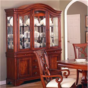 Holland House King Louis Complete China Cabinet