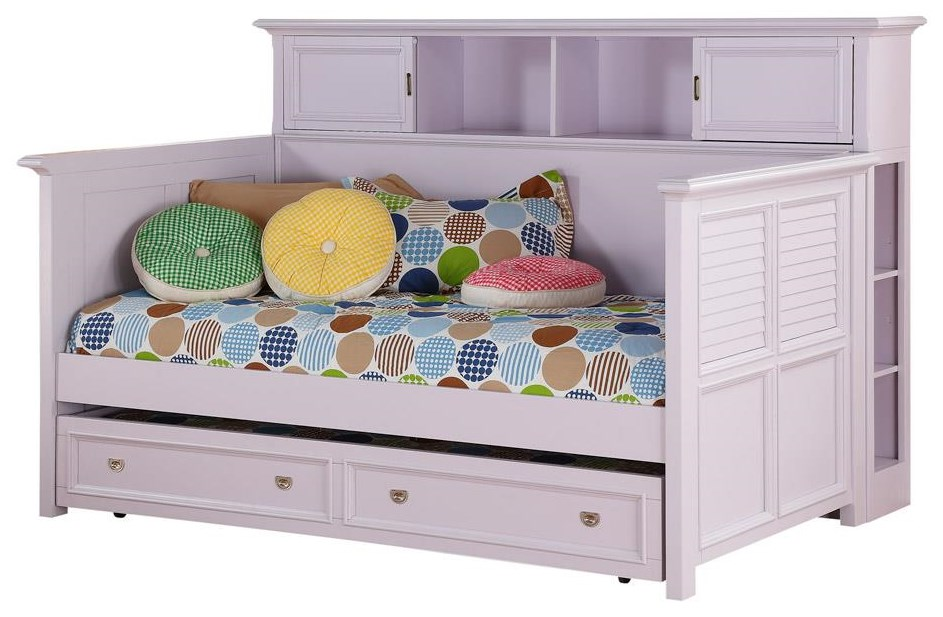 Lavender Rose Twin Bookcase Daybed w/ Trundle at Rotmans