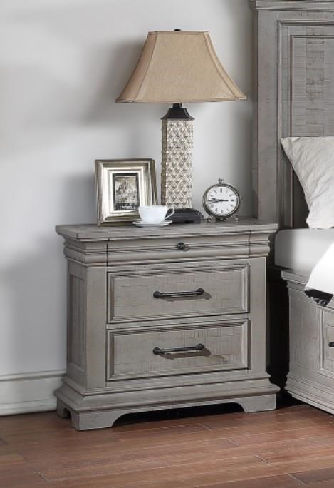 Lynd 3 Drawer Nightstand by HH at Walker's Furniture