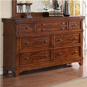 Holland House Mango Drawer Dresser