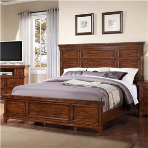 Holland House Mango King Panel Bed