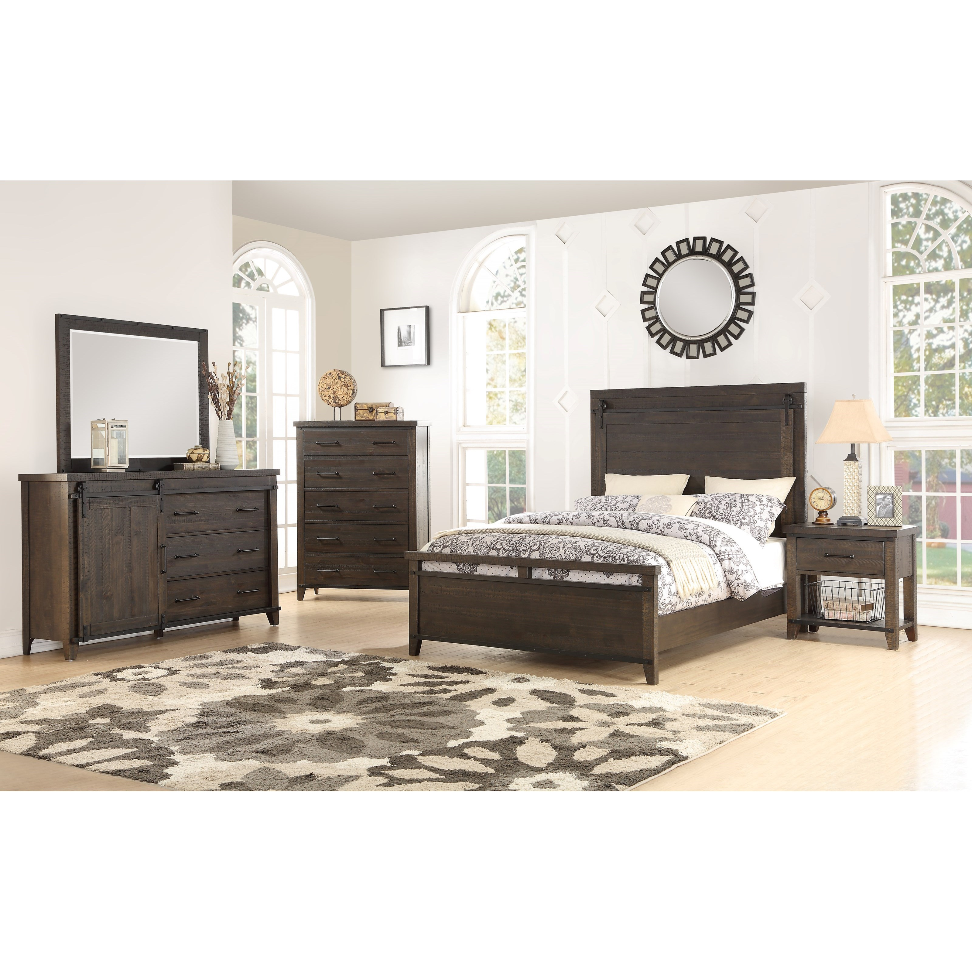 Durango 5 Piece King Bedroom Group by HH at Walker's Furniture
