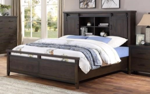 Durango Queen Bookcase Bed by HH at Walker's Furniture