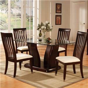 Holland House New York 5 Piece Dining Set