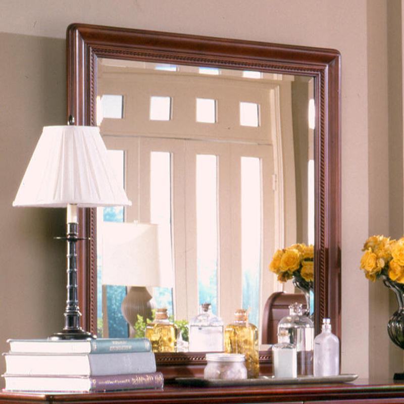 Nicolet Rectangular Mirror by Holland House at Lucas Furniture & Mattress