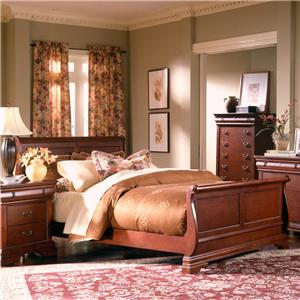 Holland House Nicolet King Sleigh Bed