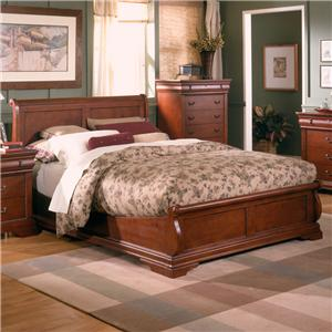 Holland House Nicolet Platform Bed