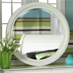Holland House Petite Louis Round Mirror
