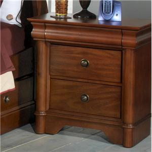 Holland House Petite Louis Night Stand