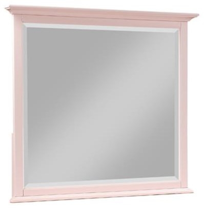 Pretty In Pink Square Dresser Mirror at Rotmans