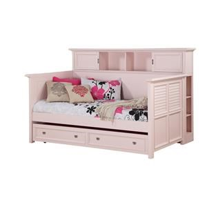Twin Bookcase Daybed w/ Trundle Storage