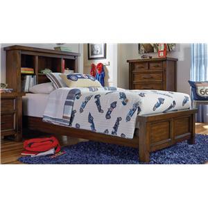 Sorrento Full Bookcase Bed