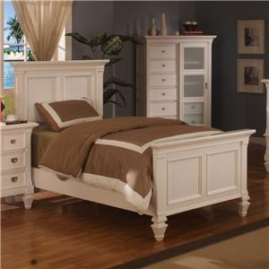 Holland House Summer Breeze Twin Panel Bed
