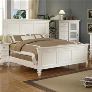 Holland House Summer Breeze King Panel Beds