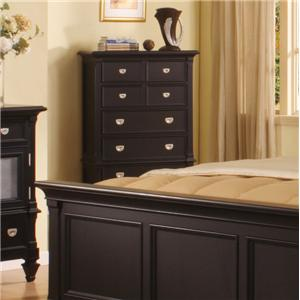 Holland House Summer Breeze 5 Drawer Chest