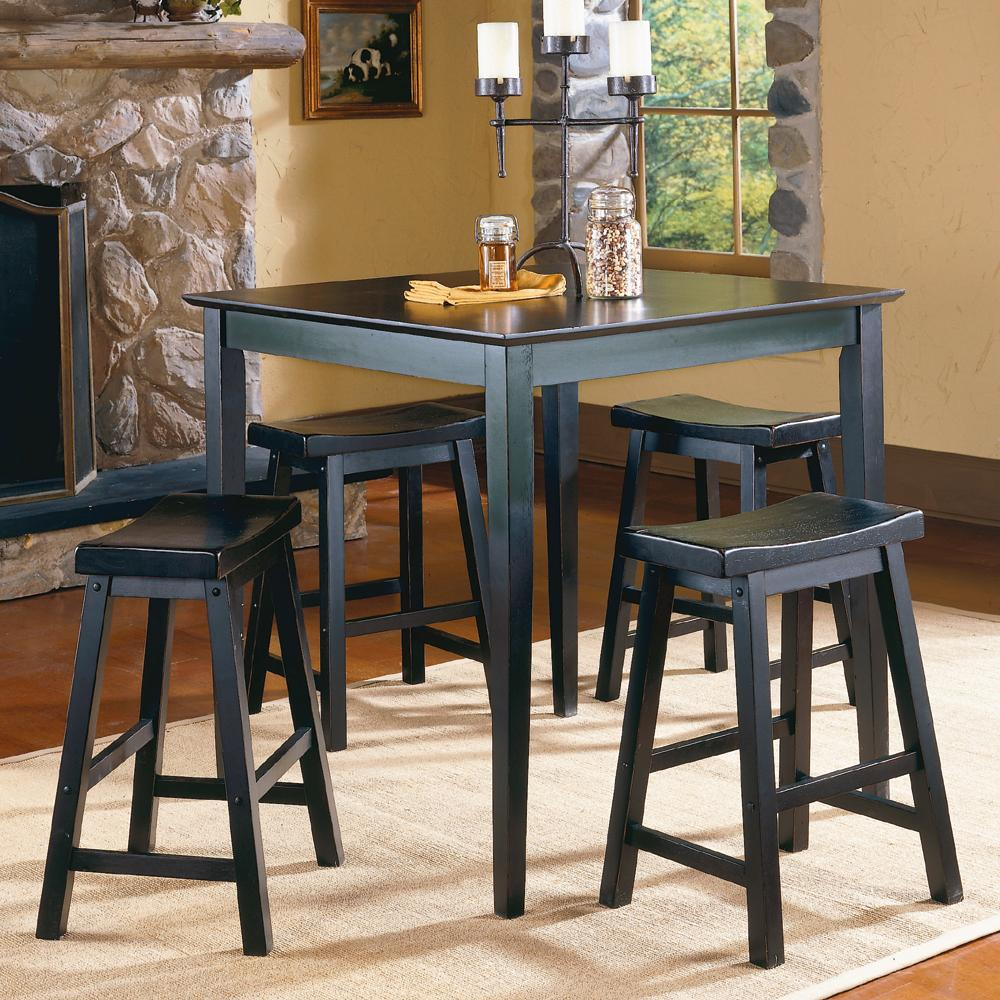 5302 5Pc Counter Height Dinette Set by Homelegance at Corner Furniture