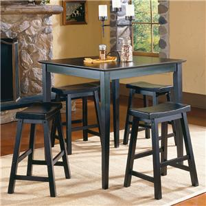 5Pc Counter Height Dinette Set