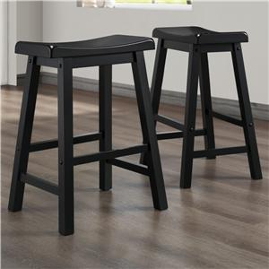 Homelegance 5302 24 Inch Stool
