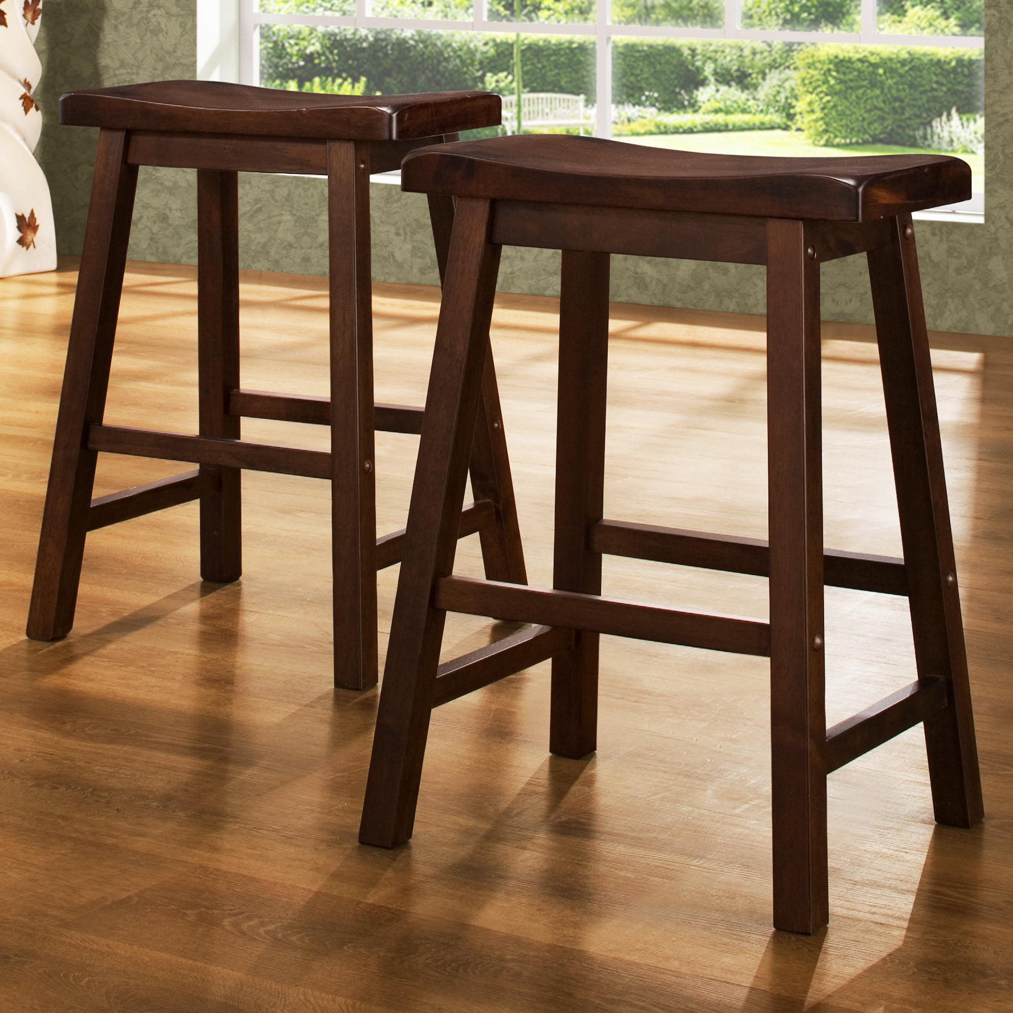 5302 24 Inch Stool by Homelegance at Nassau Furniture and Mattress