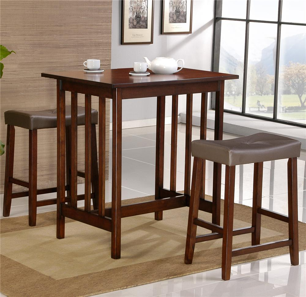5310 3 Pc Pack Dinnette by Homelegance at Lindy's Furniture Company