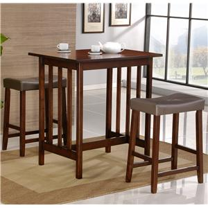 3 Piece Casual Dining Set