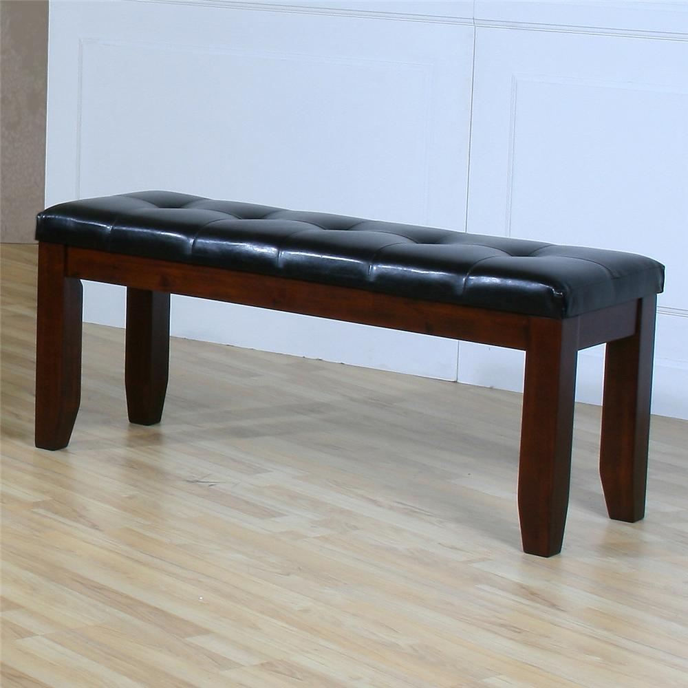 "Ameillia 48"" Bench by Homelegance at Nassau Furniture and Mattress"