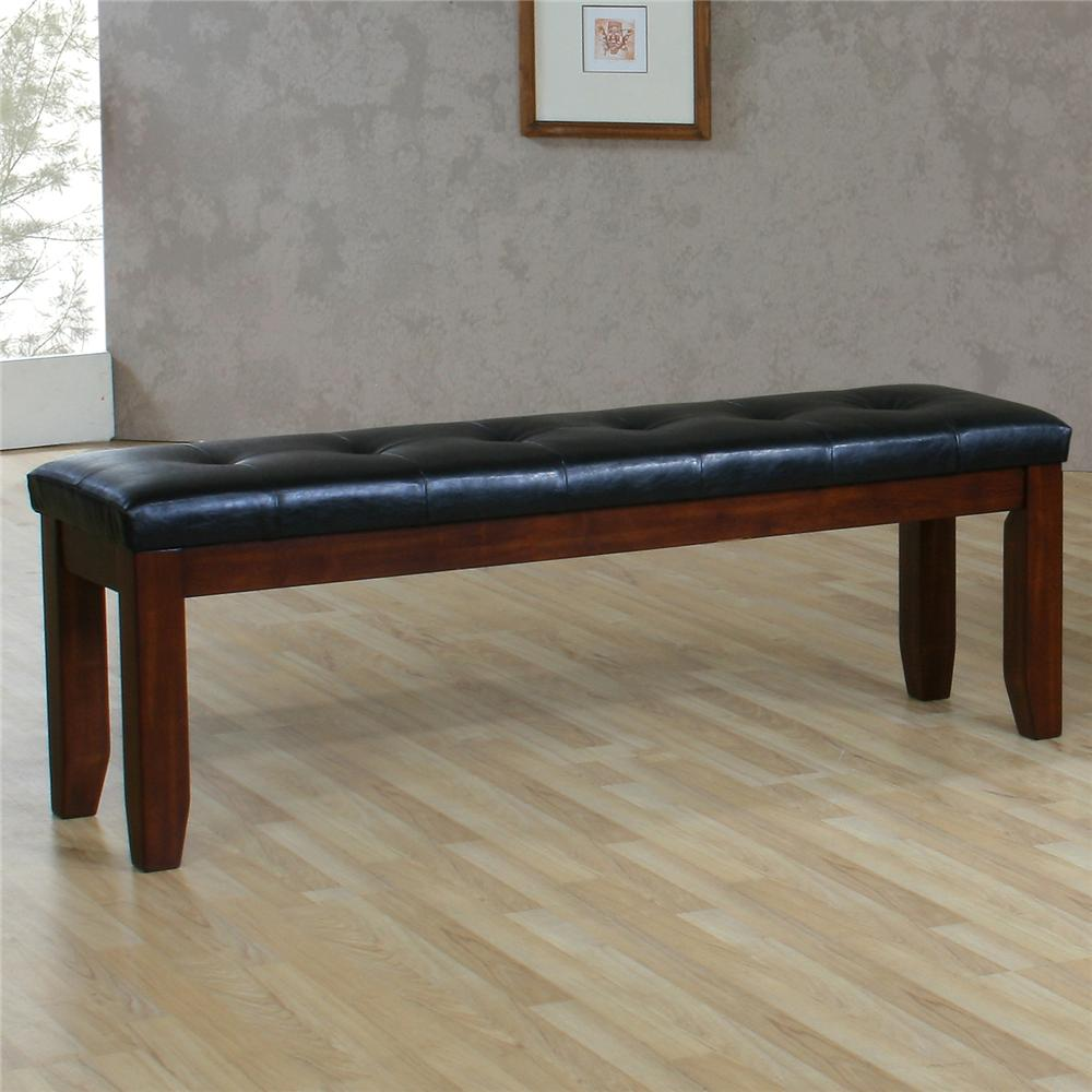 "Ameillia 60"" Bench by Homelegance at Lindy's Furniture Company"