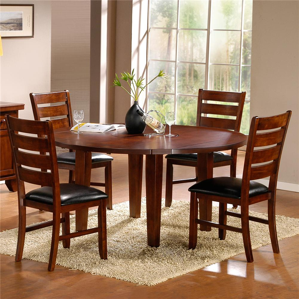 Ameillia Five Piece Dining Set by Homelegance at Carolina Direct