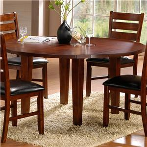 Homelegance Ameillia Round Drop Leaf Table