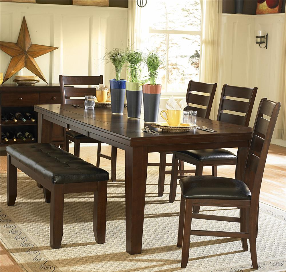 Ameillia Six Piece Dining Set by Homelegance at Simply Home by Lindy's