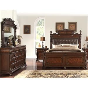 5 Piece Genevieve Bed Group