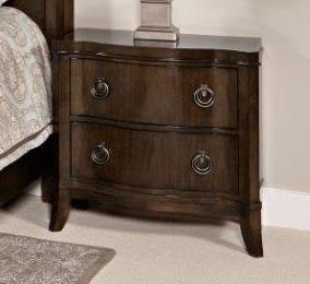Home Insights Tribeca Bedroom Walnut Nightstand