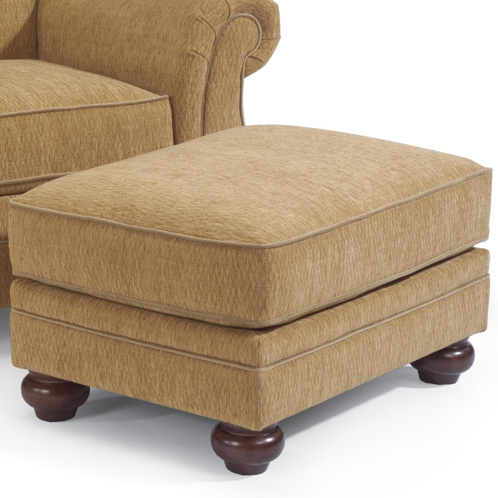 Winston Ottoman by Flexsteel at Furniture and ApplianceMart