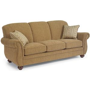 Three-Seat Stationary Sofa
