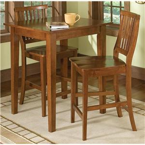 Home Styles Arts and Crafts 3 Piece Bistro Set