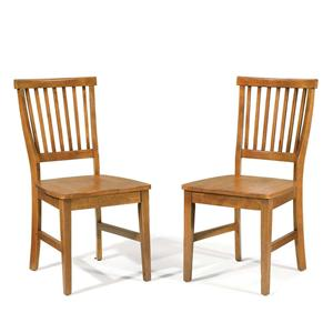Home Styles Arts and Crafts Set of 2 Side Chairs